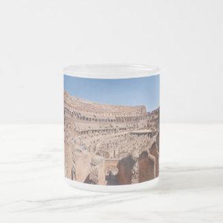 Inside of the Rome Colosseum Panoramic Portrait Mug