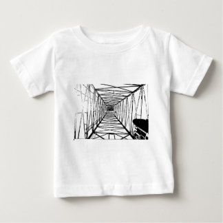 Inside Oil Drill Rig Sketch Baby T-Shirt