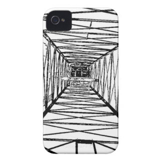 Inside Oil Drill Rig Sketch iPhone 4 Cover