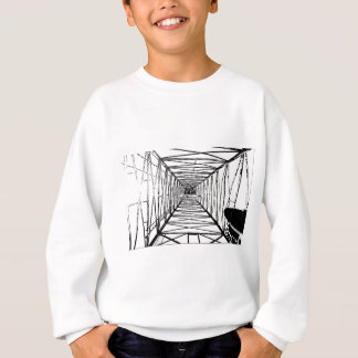 Inside Oil Drill Rig Sketch Sweatshirt
