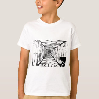 Inside Oil Drill Rig Sketch T-Shirt