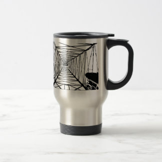 Inside Oil Drill Rig Sketch Travel Mug