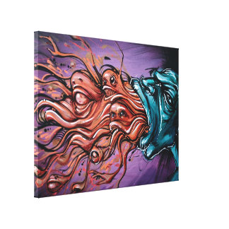 """""""INSIDE OUT"""" 18x24 gallery wrapped canvas print"""