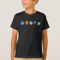 Inside Out Character Icons T-Shirt
