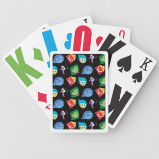 Inside Out | Character Pattern Bicycle Playing Cards