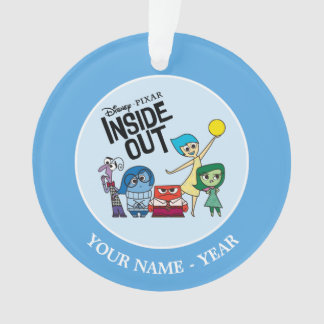 Inside Out   Characters and Inside Out Logo Ornament