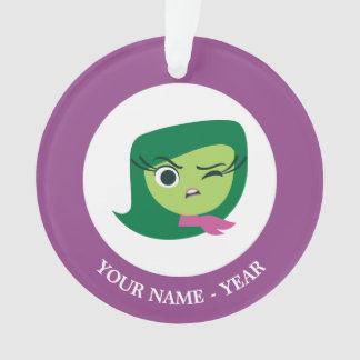 Inside out | Disgust Face With Hand Out Ornament