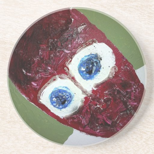 Inside Out eyes Beverage Coasters