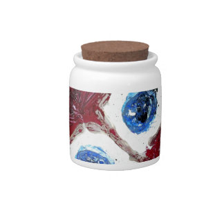 Inside Out eyes Candy Jar