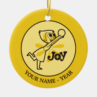 Inside Out | Joy Add Your Name Ceramic Ornament