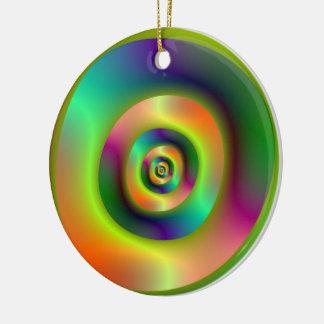 Inside Outside Rings Ornament