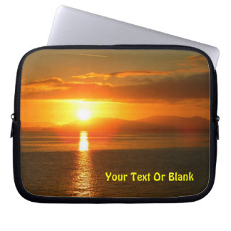 Inside Passage Sunset Laptop Sleeve