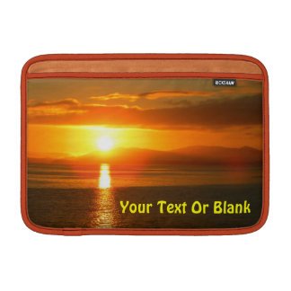 Inside Passage Sunset MacBook Sleeve