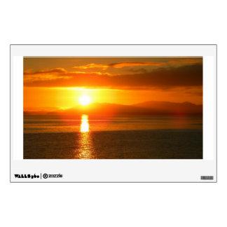 Inside Passage Sunset Wall Sticker
