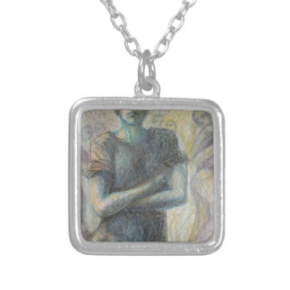 Inside People Silver Plated Necklace