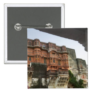 Inside Royal Ghanerao Castle, Rajasthan, India Pinback Button