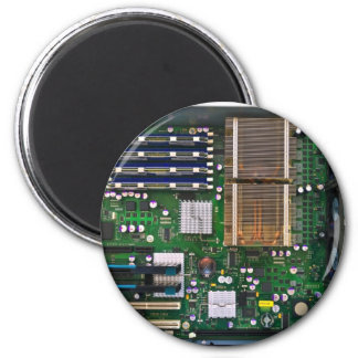 inside server computer 2 inch round magnet