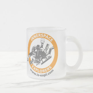 Inside space Explorer cup (gefrostetes glass) Coffee Mugs