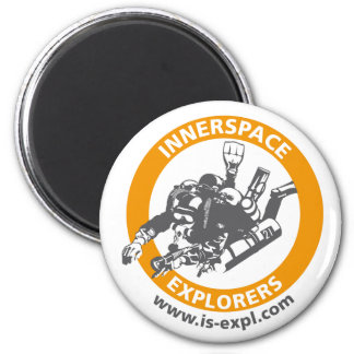 Inside space Explorers magnet