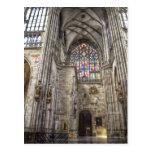 Inside St.Vitus Cathedral Prague Post Cards