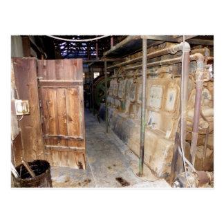 Inside Steel Structure on Vulture Mine Walk Postcard