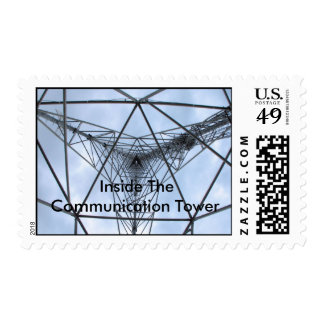 Inside The Communication Tower Postage