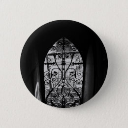 Inside the crypt pinback button