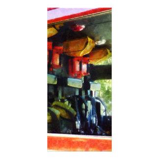 Inside the Fire Truck Rack Card