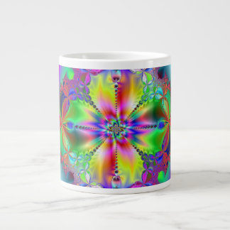 Inside the Flower 20 Oz Large Ceramic Coffee Mug