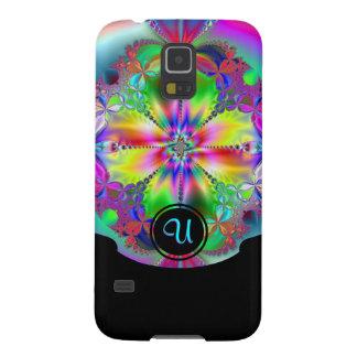 Inside the Flower w/ Bottom Black frame (monogram) Galaxy S5 Cover