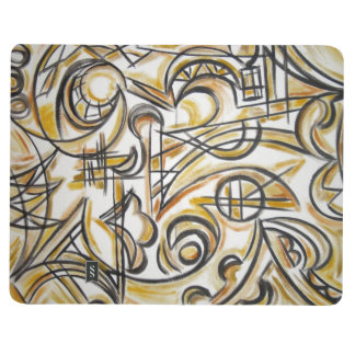 Inside The Labyrinth - Abstract Art Handpainted Journal