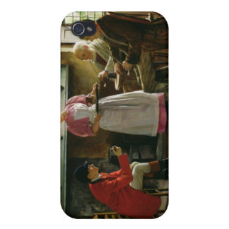 Inside the Lygon Arms, Broadway, 1896 iPhone 4 Cases