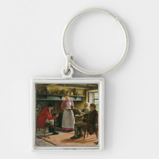 Inside the Lygon Arms, Broadway, 1896 Keychain
