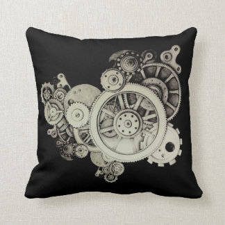Inside The Machine Throw Pillow