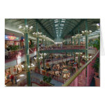 Inside The Mall Of America Minisota Store Crowd Greeting Card