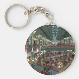 Inside The Mall Of America Minisota Store Crowd Keychain