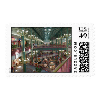Inside The Mall Of America Minisota Store Crowd Postage Stamp
