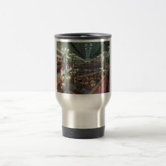 Inside The Mall Of America Minisota Store Crowd Travel Mug