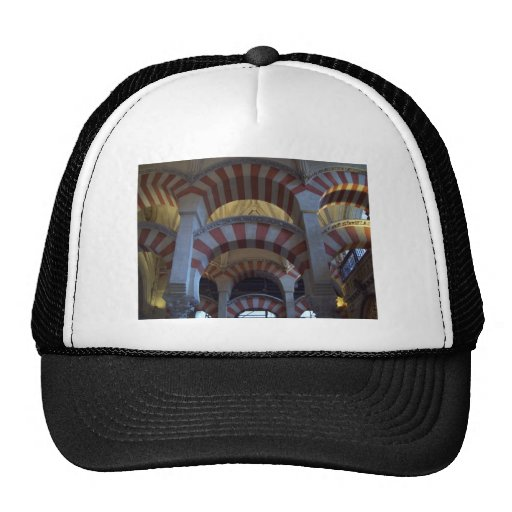 inside the mezquita trucker hat