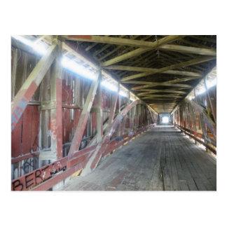 Inside the Old Bridge Postcard