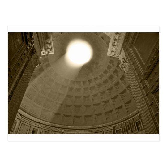 Inside the Pantheon, Rome Postcard