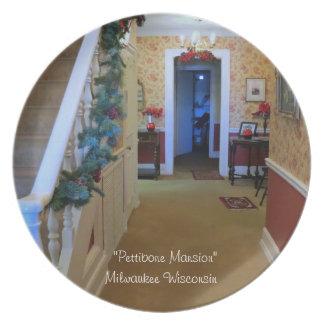 """Inside The Pettibone Mansion""  Milwaukee WI Plates"