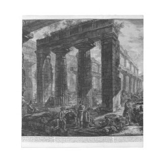 Inside the same temple Giovanni Battista Piranesi Notepad
