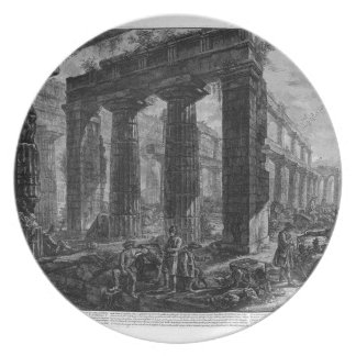 Inside the same temple Giovanni Battista Piranesi Plate