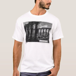 Inside the Temple by Giovanni Battista Piranesi T-Shirt