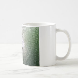Inside The Tube. A Surfers View. Tiled look Classic White Coffee Mug