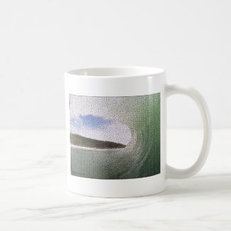 Inside The Tube. A Surfers View. Tiled look Coffee Mugs