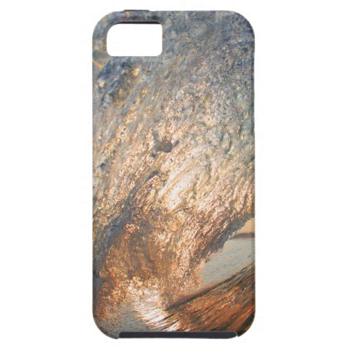 Inside the tube surfing wave iPhone 5 cover