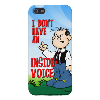 Inside Voice iPhone 5 Cover