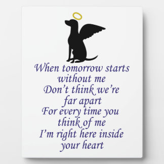 INSIDE YOUR HEART PHOTO PLAQUE